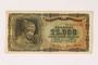German issued Greek currency, 25,000 Drachmai note