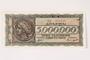 German issued Greek currency, 5,000,000 Drachmai note