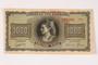 German issued Greek currency, 1,000 Drachmai note