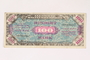Allied Military currency for Germany, 100 mark note
