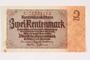 German Rentenbank, 2 Rentenmark note