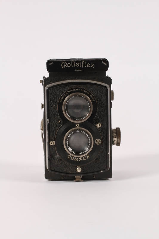 2015.483.1 a front Rolleiflex camera taken by an American soldier
