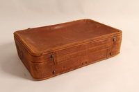 2015.501.2 back Suitcase used by German Jewish refugee family  Click to enlarge