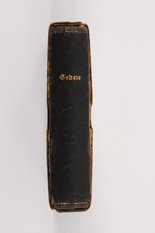 2012.342.3 a-b side Deutsche Gebete zum Gebrauche bei der häuslichen und öffentlichen Andacht