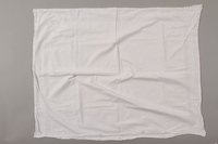 2012.342.4 back White lace pillowcase returned to Czech Jewish concentration camp inmates postwar  Click to enlarge