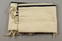 2015.365.9 side a Tallit carried by a Kindertransport refugee  Click to enlarge