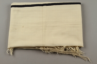 2015.365.9 side b Tallit carried by a Kindertransport refugee  Click to enlarge