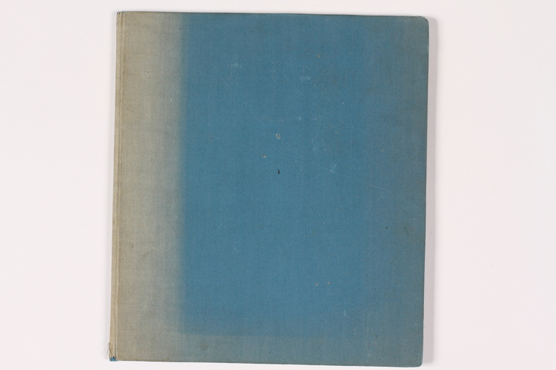 2009.401.2 front Theresienstadt scrapbook acquired by a German American US soldier