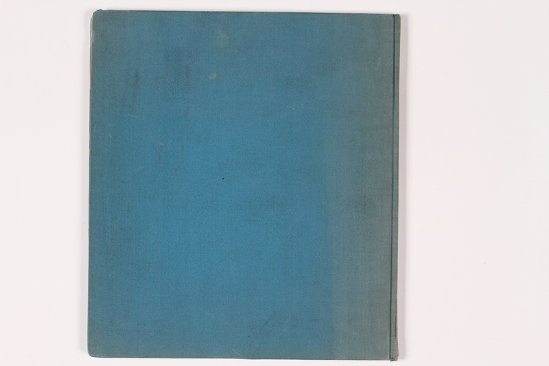 2009.401.2 back Theresienstadt scrapbook acquired by a German American US soldier