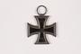 World War I Iron Cross medal awarded to a Jewish German veteran