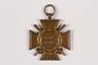 World War I medal awarded to a Jewish German veteran