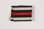 Piece of black, white and red striped ribbon awarded to a Jewish German veteran