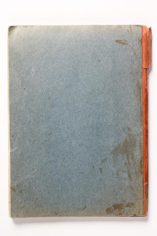 2014.538.2 back Recipe book written in Theresienstadt