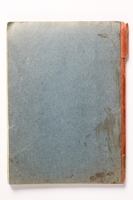 2014.538.2 back Recipe book written in Theresienstadt  Click to enlarge