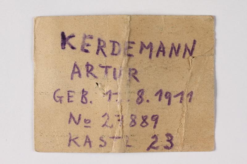 1995.A.0217.2a back Identification card