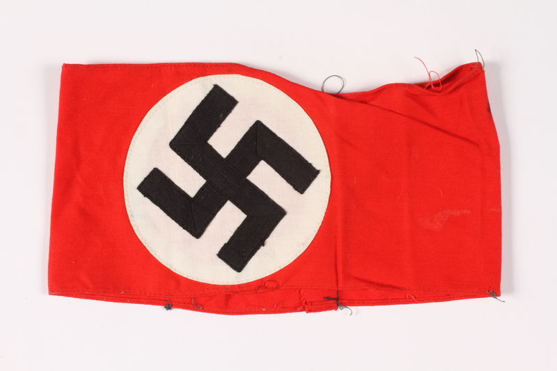 2015.451.19 front Armband with swastika
