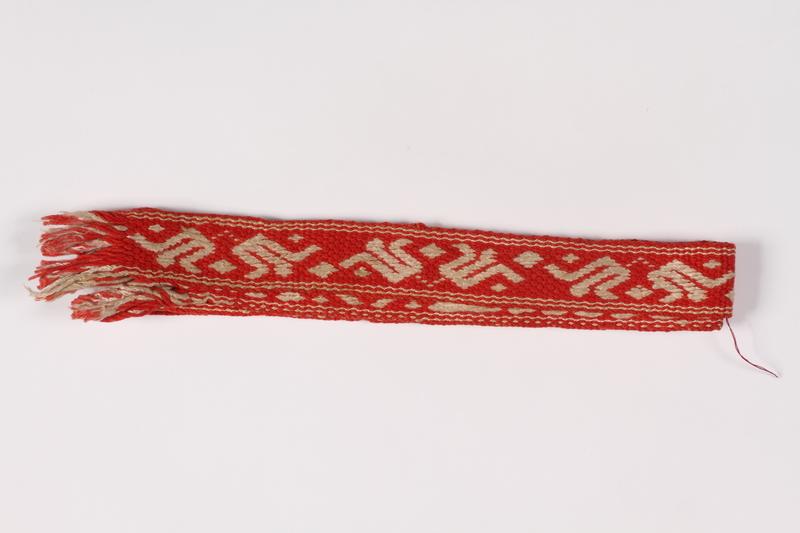 2015.451.22 front Woven belt
