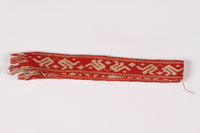 2015.451.22 front Woven belt  Click to enlarge