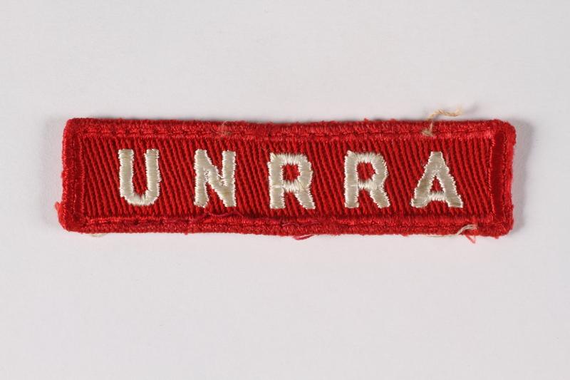 2015.451.29 front UNRRA patch