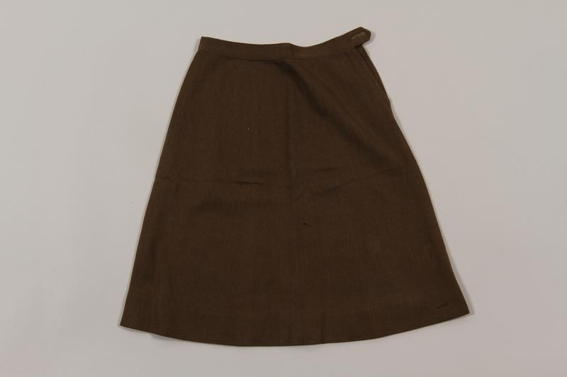 2015.451.33 front Uniform skirt
