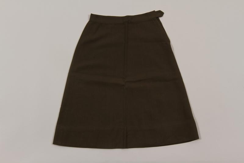2015.451.34 front Uniform skirt