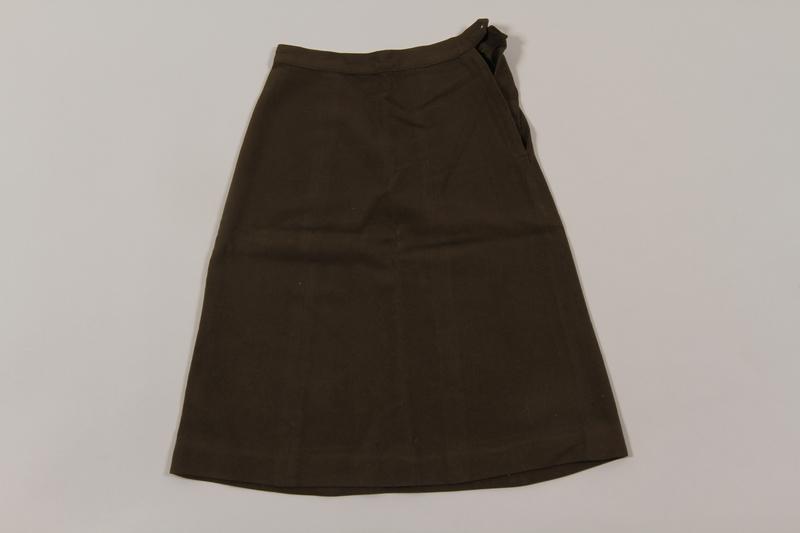 2015.451.35 front Uniform skirt