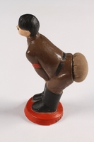 2015.238.19 a left side Ceramic figurine of Adolf Hitler with pincushion  Click to enlarge