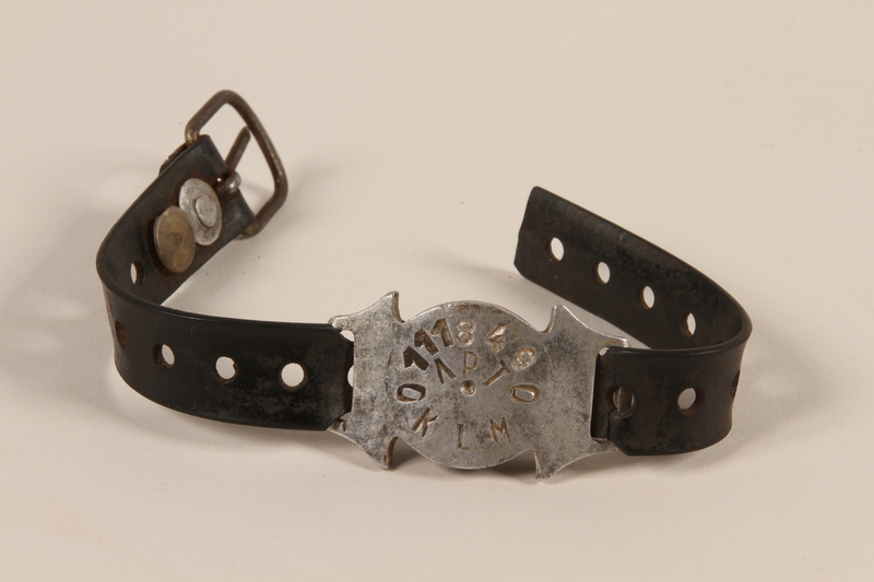1997.42.6 front Bracelet found by an American soldier