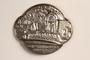 Metal token depicting the Bad Rehburg Kurplatz