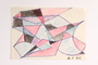 Pencil and ink drawing of geometric shapes
