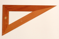 2004.614.23 front Wood triangle  Click to enlarge
