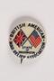State of Washington British American War Relief Association pin