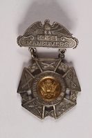 2015.514.20 front National Defenders of U.S.A maneuvers badge  Click to enlarge