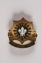 US Army 2nd Cavalry Regiment Toujours Pret pin worn by a Jewish American soldier