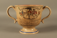 2016.184.12 back Staffordshire loving cup printed with Lord Gordon's circumcision  Click to enlarge