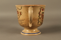 2016.184.12 right side Staffordshire loving cup printed with Lord Gordon's circumcision  Click to enlarge