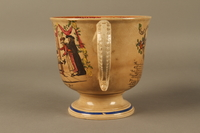 2016.184.12 left side Staffordshire loving cup printed with Lord Gordon's circumcision  Click to enlarge