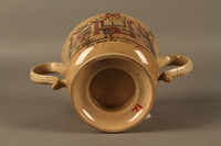 2016.184.12 bottom Staffordshire loving cup printed with Lord Gordon's circumcision  Click to enlarge