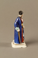 2016.184.13 right side Porcelain figure of Shylock, richly dressed and carrying a dagger  Click to enlarge