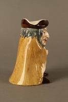 2016.184.17 right side Toby Jug of Shylock holding his contract  Click to enlarge