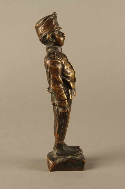 2016.184.25 right side Comical figurine of a Jewish soldier, Austro-Hungarian Army