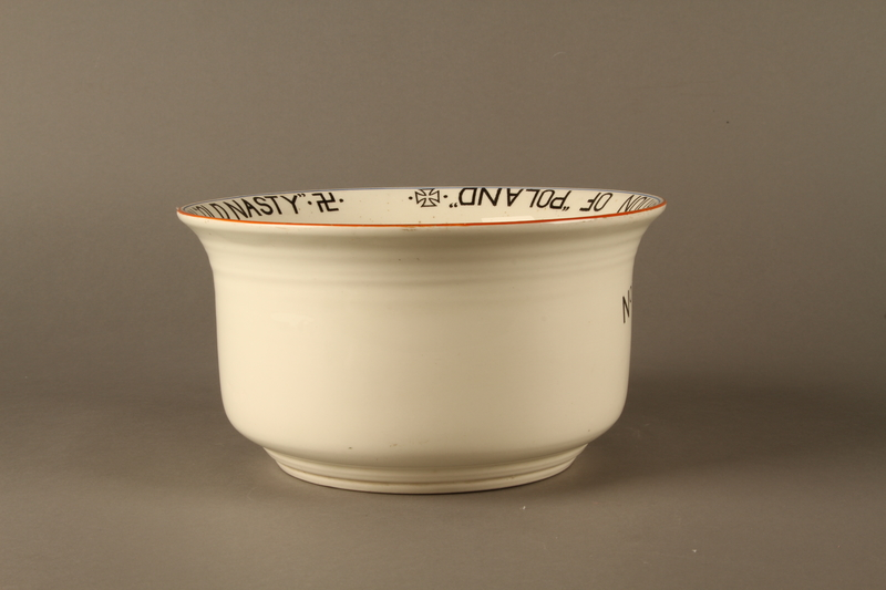 2016.184.27 right side Musical chamber pot with an image of Hitler