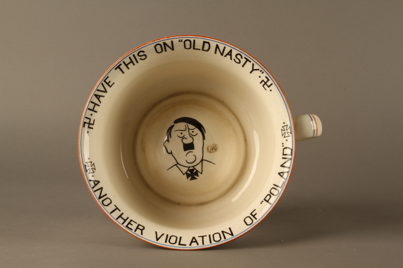 2016.184.27 top Musical chamber pot with an image of Hitler