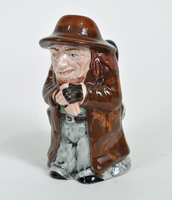 Manor pitcher in the shape of Fagin  Click to enlarge