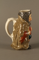 2016.184.84 right side Fagin ceramic pitcher by Roy Kirkham  Click to enlarge