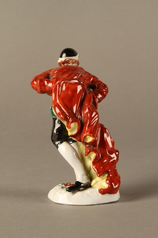 2016.184.123 back Capodimonte figurine of a Jewish gentleman