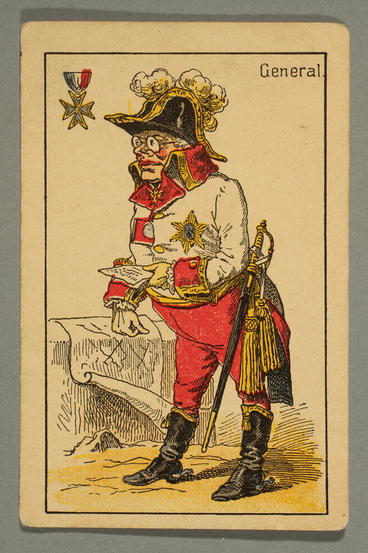 2016.184.132 c front Schwarzer Peter playing card deck with German social roles