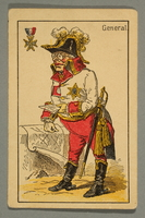 2016.184.132 c front Schwarzer Peter playing card deck with German social roles  Click to enlarge