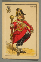 2016.184.132 d front Schwarzer Peter playing card deck with German social roles  Click to enlarge