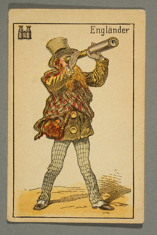 2016.184.132 k front Schwarzer Peter playing card deck with German social roles